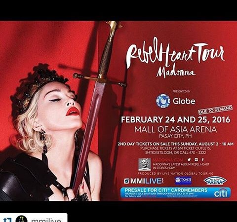 Madonna Concert in the Philippines Extended