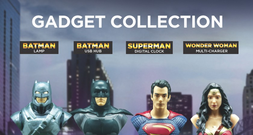 Batman Vs Superman Collectibles from Petron