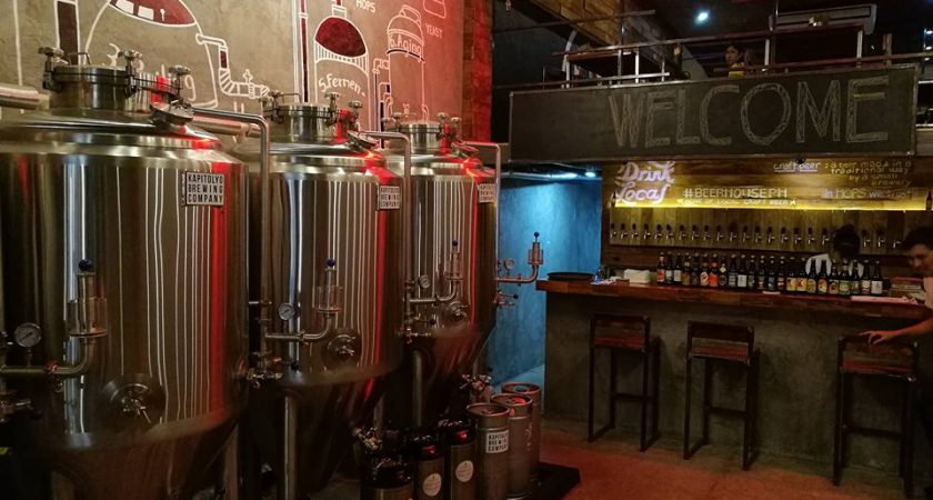 Kapitolyo Brewing company brings you Beer House Ph