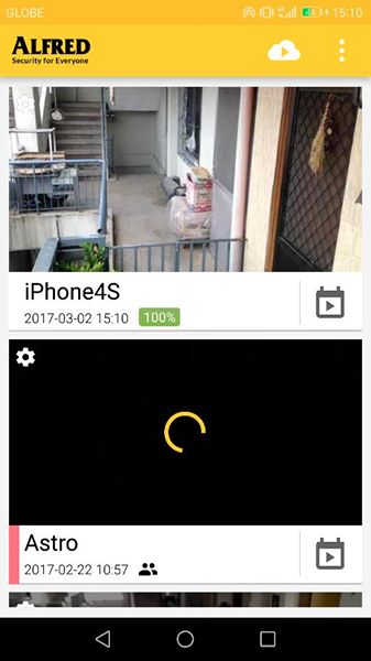You ca add as many mobile phones as camera sources as you want.. you can  event use old phones you no longer use See.. I'm using an iphone 4s and a  Cherry ...
