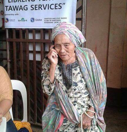 Libreng Text and Tawag in Marawi organized by NTC upon announcement of President Duterte that Marawi is Free